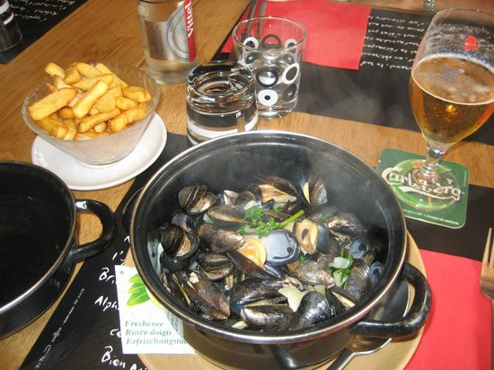Le Bistrot a Crepes: Moules-frites