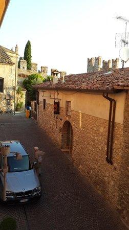 Hotel degli Oleandri: View from our window