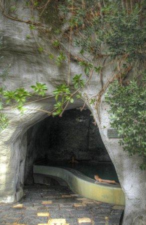Negombo Giardini Termali: la grotta termale in cima la parco