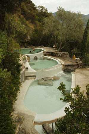 Negombo Giardini Termali: piscine termali in cima al parco