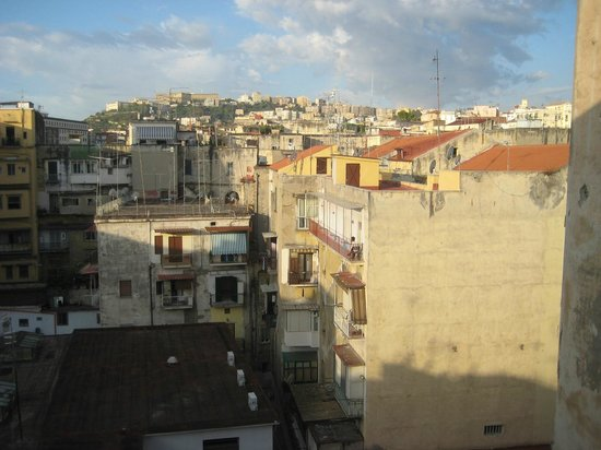 Cerasiello: Naples as seen from one bedroom
