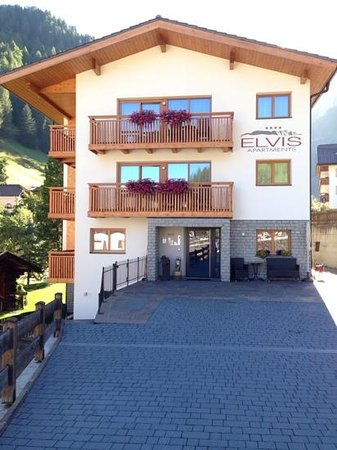 Elvis Apartments: quiet location