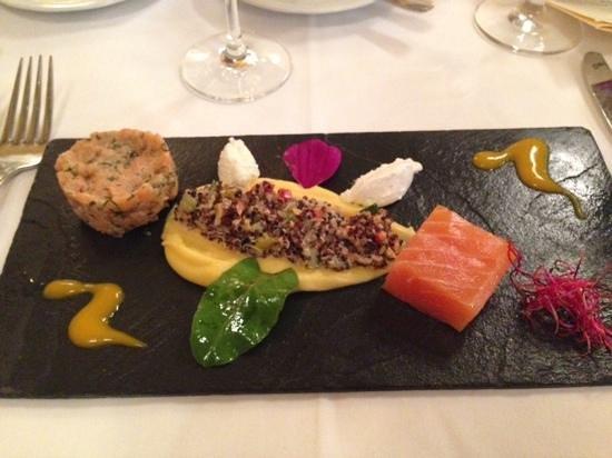 Opéra: холодная часть блюда из морепродуктов на двоих