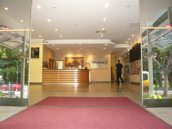 Metropolitan YMCA Singapore: Main entrance reception
