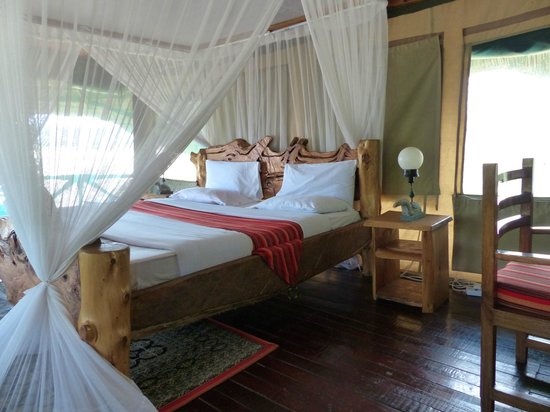 Manyara Wildlife Safari Camp: Chambre