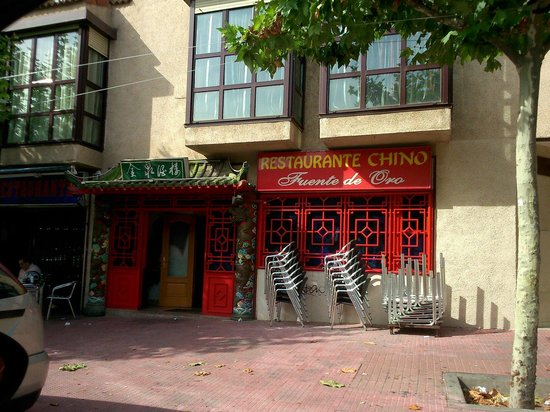 Mejorada del Campo, สเปน: Restaurante Chino Fuente de Oro