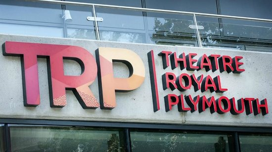 Theatre Royal Plymouth: Front logo signage