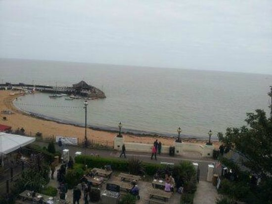 Royal Albion Hotel: Our lovely view