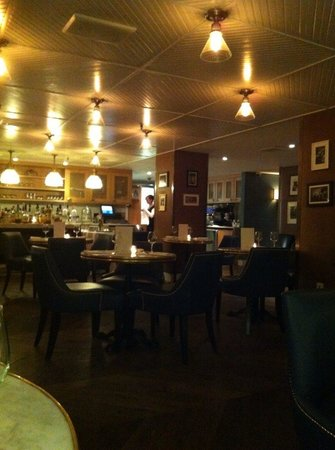 The Roger: Very lovely intimate restaurant.  Beautiful food and good wine