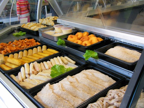 Swordfish Cafe: Crumb Fish, Calamari