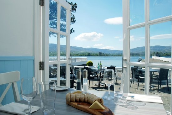 The Boathouse Bistro Dromquinna Manor: View