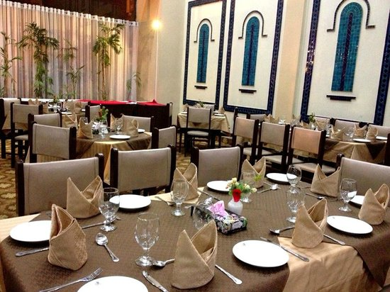 Amer Hotel: Lobby Dining Area