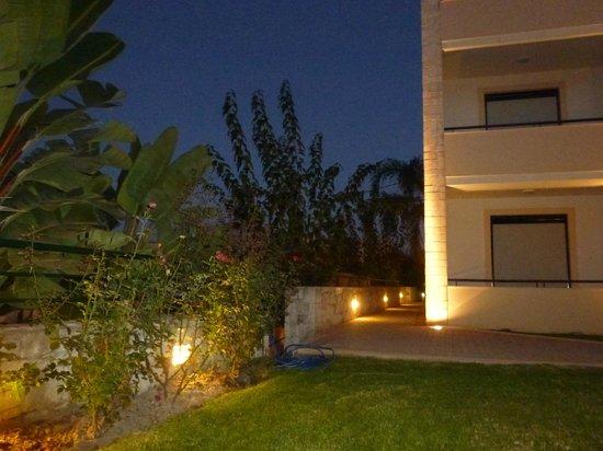Creta Palm: uitzicht vanaf terras bij kamer
