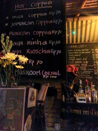 Napi Orti Ubud: What's your poison?