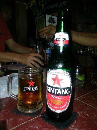 Napi Orti Ubud: Ice cold Bintang