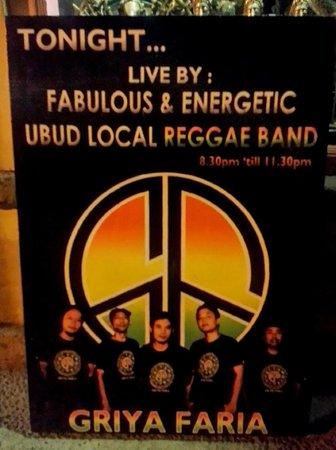 Napi Orti Ubud: Fabulous band!