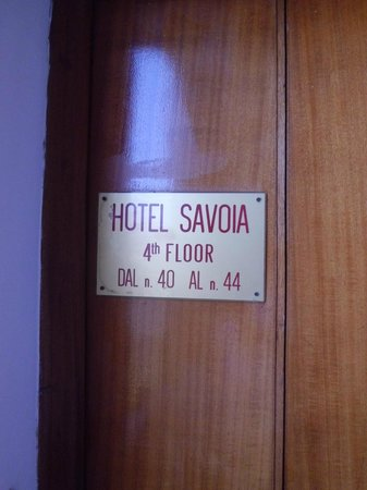 Hotel Savoia : Entrance (luxuryyyyyy)