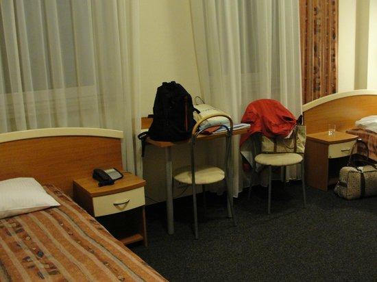 Hotel Atrium: Spacious twin room