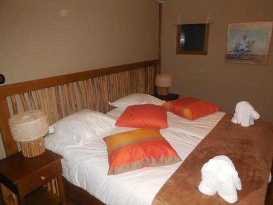 Les Lodges du PAL : chambre
