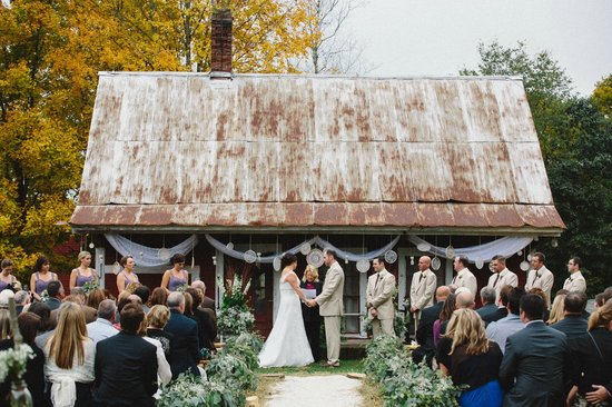 Bishop Farm Bed and Breakfast: wedding ceremony
