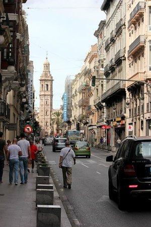 Vincci Palace Valencia: Central location