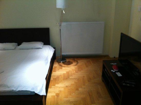 Venetian House Aparthotel: Buenos radiadores. No se pasa frío