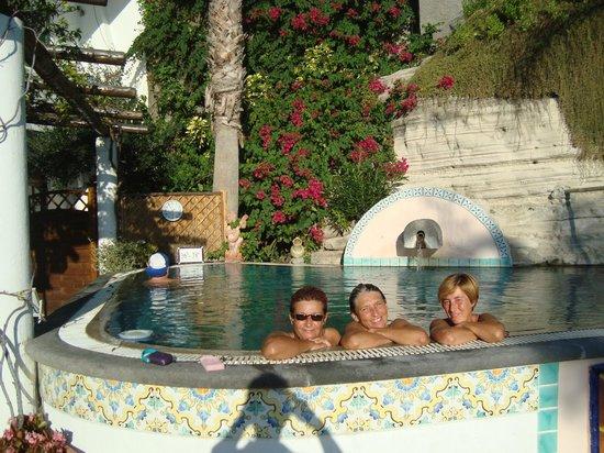 Villa Bianca: piscina termale
