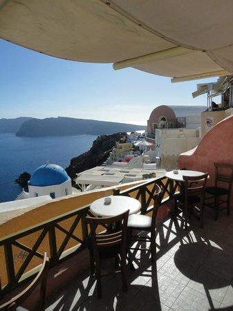 Melenio Cafe: top terrace