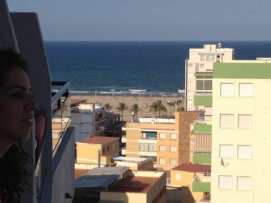 Hotel Principal: La playa desde la habitación