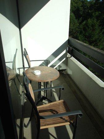 Dorint Resort Arnsberg/Sauerland: Terrasse coté salon