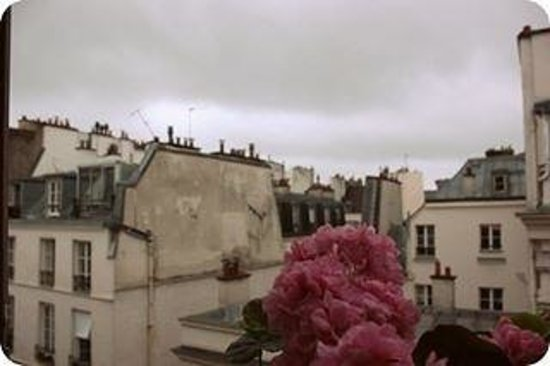 Hotel Bersoly's Saint Germain: the view from one of our rooms
