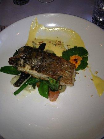 The Landmark Brasserie: Barrumundi Fillet