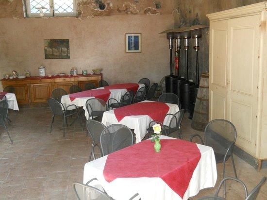 La Rocca della Rosa : zona pranzo