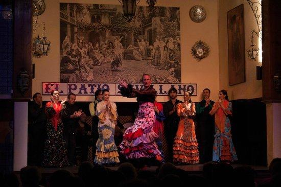 El Patio Sevillano Tablao Flamenco Picture Of El Patio Sevillano