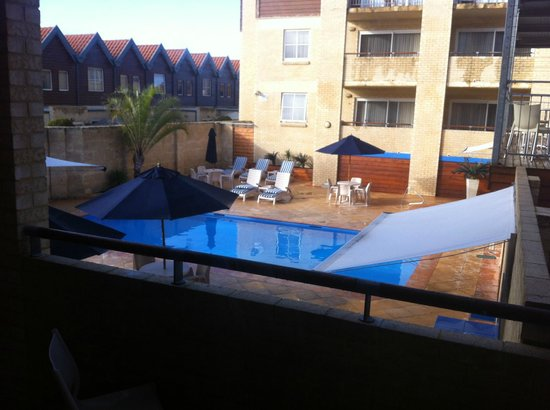 Hillarys Harbour Resort Apartments: From the patio