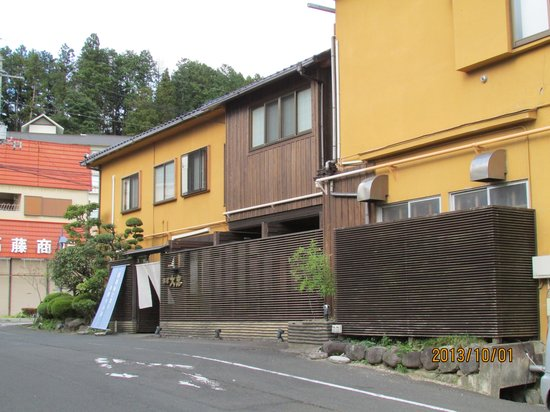 Ryokan Daichu : 宿の入り口