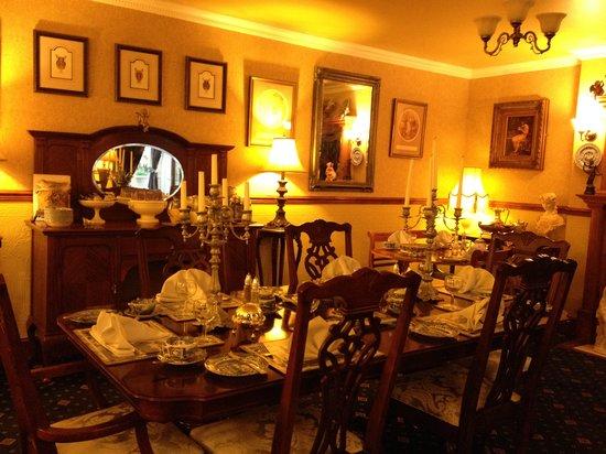 Beaufort Guest House: Victorian Breakfast/Tea Room