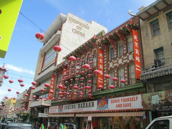 Wok Wiz Chinatown Tours : Interesting architecture in Chinatown.