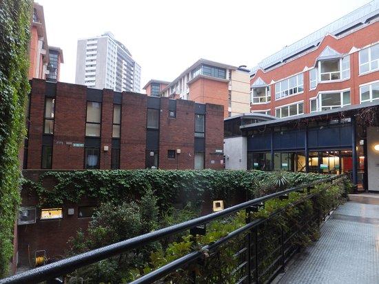 LSE Rosebery Hall Residence: Inner Courtyard!