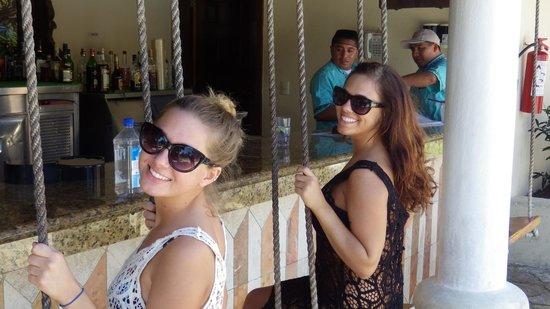 Occidental at Xcaret Destination: Swing Bar, Poolside