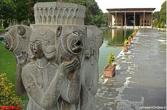 Isfahan Province, Irán: Chehel Sotoon