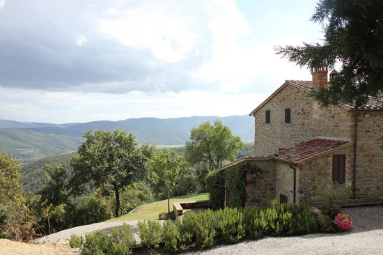 Casa Panfili: Side of guesthouse and grounds