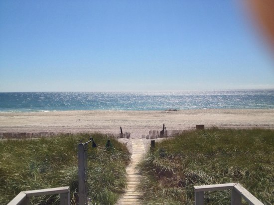 Dune Point: view from the shared deck