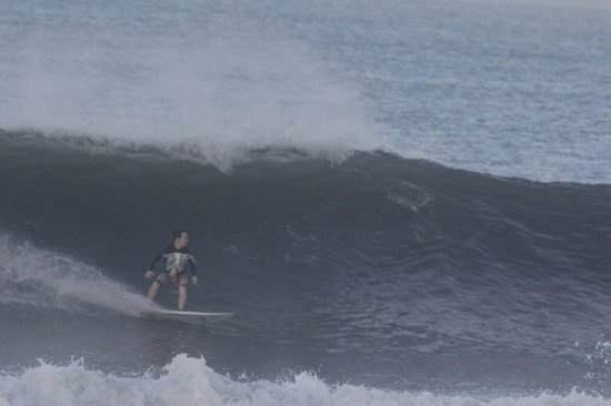 Kelapa Retreat and Spa: Scored some good swell at Medewi