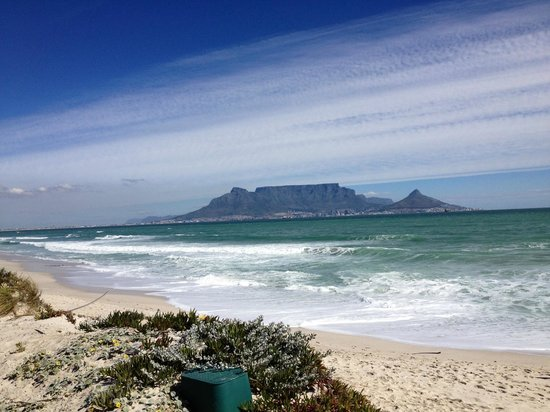 Cape Surf Hostel: View from 'Our Beach' ; 200m from the door
