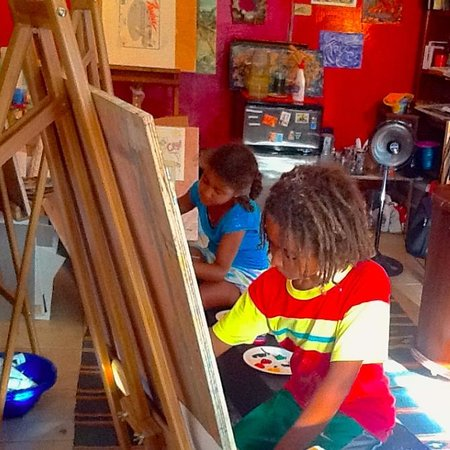 Random Art: Junior Artists Studio Time