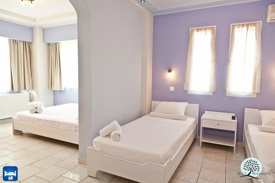 Melissanthi Hotel : Quadruple Room