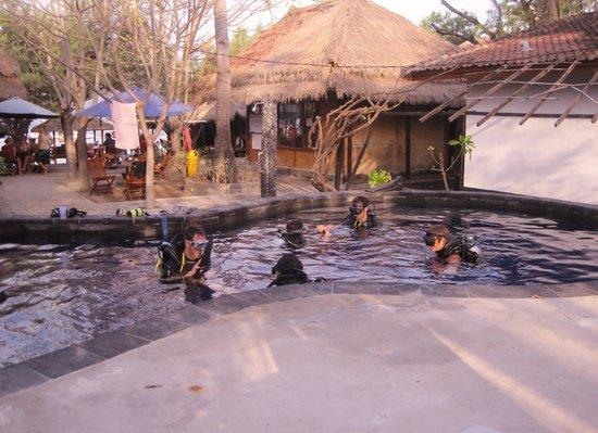 Manta Dive Gili Air Resort: Leaners