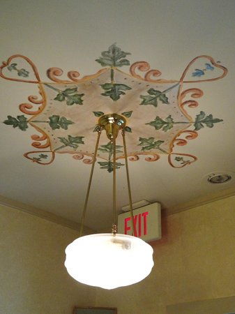 Historic Eureka Inn : This was the light that hung directly outside of the Cooks Room.