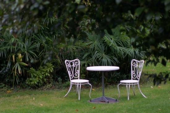Casa Emmaus: Erholung im Garten